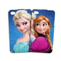 Best Friends Funny Disney Frozen iPod Case Cute iPhone BFF Cover Blue Anna Elsa