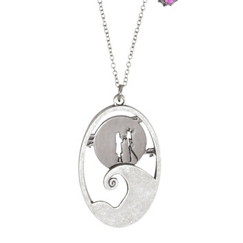 The Nightmare Before Christmas Spiral Hill Pendant Necklace