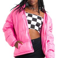 Vintage Y2K Bubblegum Bb Puffy Jacket - One Size Fits Many