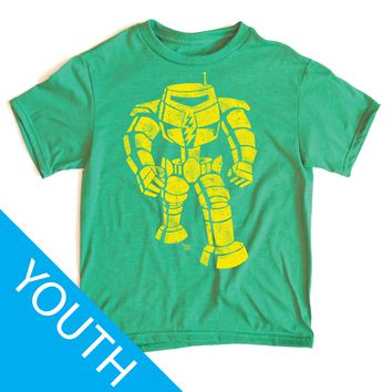 Ames Bros Man-Bot Youth T-Shirt