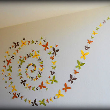 how to decorate a room with handmade things best walls with handmade butterfly decorations products on 2738