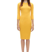 VICTORIA BECKHAM | ICON 3/4 SLEEVE WRAP DRESS