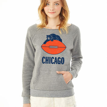 Chicago (Vintage) ladies sweatshirt