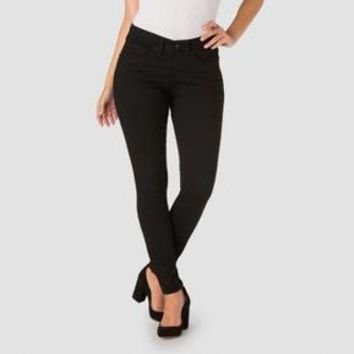 DENIZEN® from Levi's® Women's Curvy Skinny Jeans - Black Pearl 12