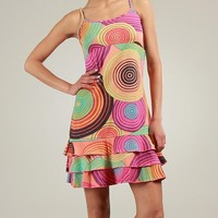 Coton Du Monde Multicolor Layered Dress - 100% Cotton Apparel by Coton du Monde - Modnique.com