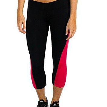 WoolX Fearless Capri Pants by Lightweight Compression Womenrsquos Workout Capris