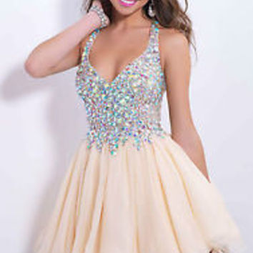 2015 Short/Mini Cocktail Dresses Party Homecoming Formal Bridesmaid Prom Dress