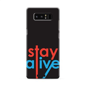 Twenty One Pilots Stay Alive Samsung Galaxy Note 8 Case