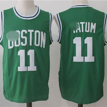 New arrival Boston men youth Basketball shirts Celtice,11 Kyrie Irving Celtics jersey 20 Gordon Hayward ,0 Jayson Tatum Custom Stitched