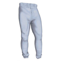 Easton Deluxe Youth Baseball Softball Pants Gray (Grey)