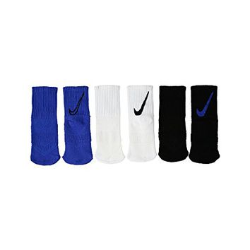 Nike Kids 3-Pair Pack HBR Trainers Crew Socks (Toddler)