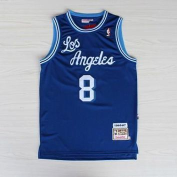 La Lakers #8 Kobe Bryant Retro Swingman Jersey | Best Deal Online