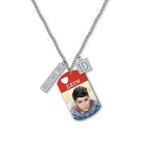 "One Direction 16"" Tag Necklace - Zayn (Official 1D Merchandise)"