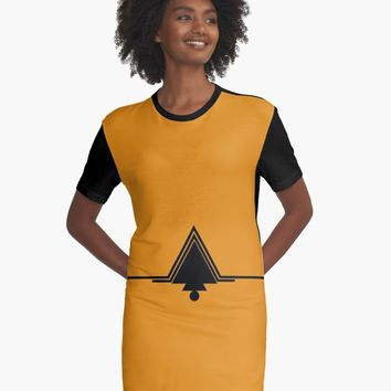 "'""geometric art 528""' Graphic T-Shirt Dress by BillOwenArt"