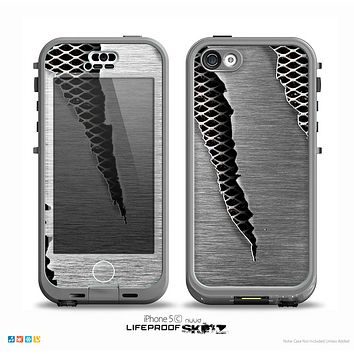 The Clawed Metal Sheet Skin for the iPhone 5c nüüd LifeProof Case