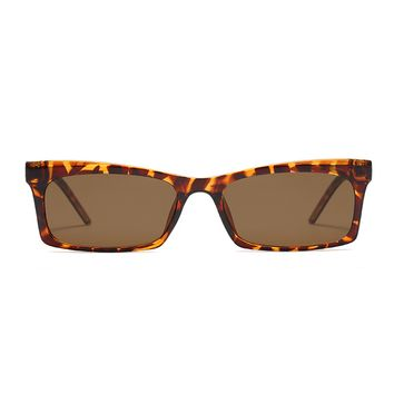 The Off Duty Girl Sunglasses Leopard