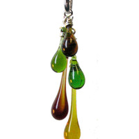 Fall Colors Cascade Necklace
