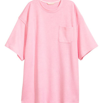Oversized T-shirt - from H&M