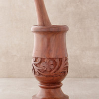 Hand Carved Mortar and Pestle
