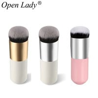 1 PCS Makeup Brush Explosion Models Chubby Pier Foundation Brush Flat The Portable BB Cream Makeup Brushes