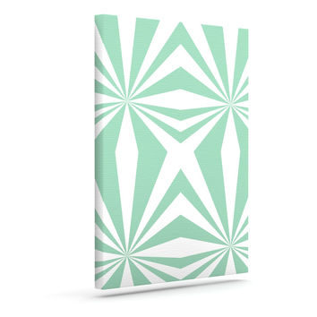 """Project M """"Starburst Mint"""" Outdoor Canvas Wall Art"""