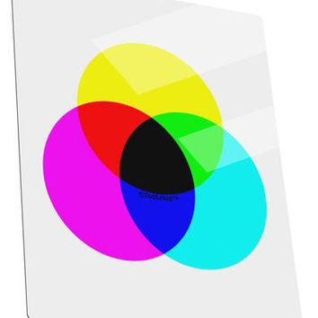 CMYK Color Model Metal Panel Wall Art Portrait - Choose Size by TooLoud