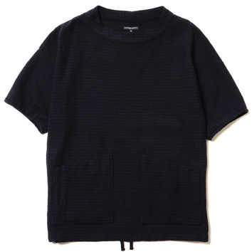 S/S Smock - Wool Horizontal Stripe