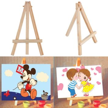Transon Artist laptop beech wooden Easel, mini wood easel for book and photo, table easel for art school supplies