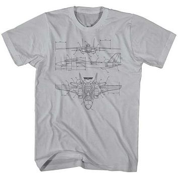 Naval Fighter Jet Tee