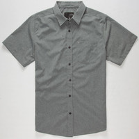 Hurley Rogan Dri-Fit Mens Shirt Black  In Sizes