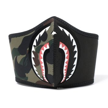 Camo Shark Mask by Bape