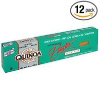 Ancient Harvest Quinoa Linguine, Organic, Gluten-free, 8-Ounce Boxes (Pack of 12) $39.09