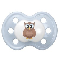 Kawaii Baby Owl Pacifier from Zazzle.com