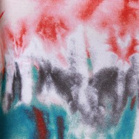 Twisted Tie-Dye Flare Pants