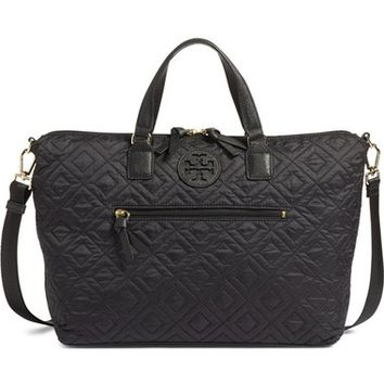 Tory Burch 'Ella' Quilted Nylon Satchel | Nordstrom