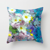 She comes in colors Throw Pillow by Joke Vermeer