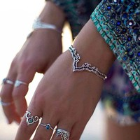 Bohemian Retro Plated Silver Jewelry