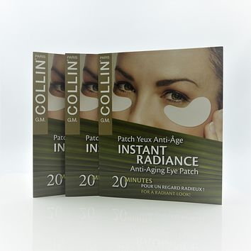 G.M. Collin Instant Radiance Eye Patch, 3 Count [Travel Packs]