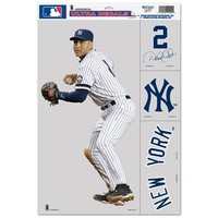 New York Yankees Official MLB 11 inch x 17 inch Car Window Cling Decal by Wincraft