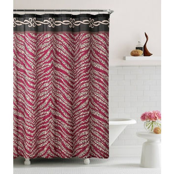 "Shower Curtain- Madeira Embossed Microfiber- 70""X 72"""