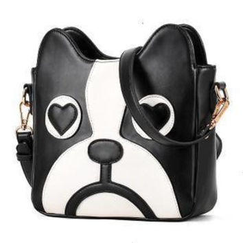 Hot Sale Cartoons Lovely Dogs Messenger Bags Stylish Bags Shoulder Bags [6582659591]