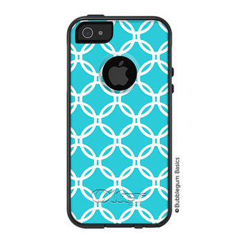 OTTERBOX Commuter iPhone 5 5S 5C 4/4s Samsung Galaxy S3 S4 S5 Note 2 3 Case Turquoise Lattice Quatrefoil design Fashion Series Collection