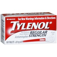 TYLENOL Regular Strength Pain Reliever & Fever Reducer, Tablets