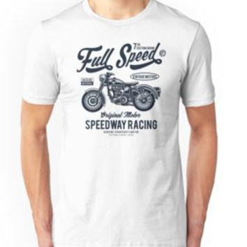 'SPEEDWAY MOTORCYCLE' T-Shirt by Super3