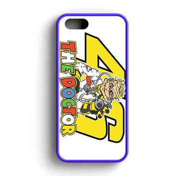 Valentino Rossi The Doctor Logo iPhone 5 Case iPhone 5s Case iPhone 5c Case