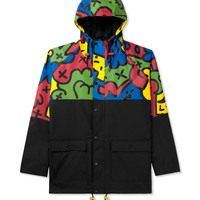 Lazy Oaf Multi/Black Oafetti Mac Jacket | HYPEBEAST Store. Shop Online for Men's Fashion, Streetwear, Sneakers, Accessories