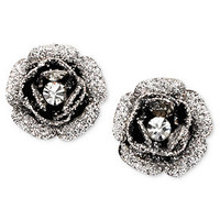 Betsey Johnson Earrings, Rose Bud Stud