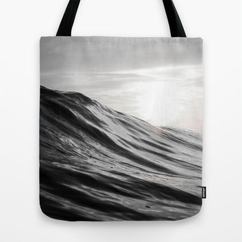 Motion of Water Tote Bag by Nicklas Gustafsson