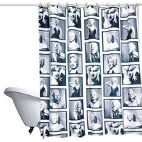 Marilyn Monroe Shower Curtain, 71 inch x 80 inch, EcoFriendly Polyester