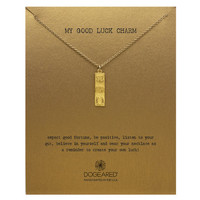 my good luck charm necklace, gold dipped, 24 inch - Dogeared